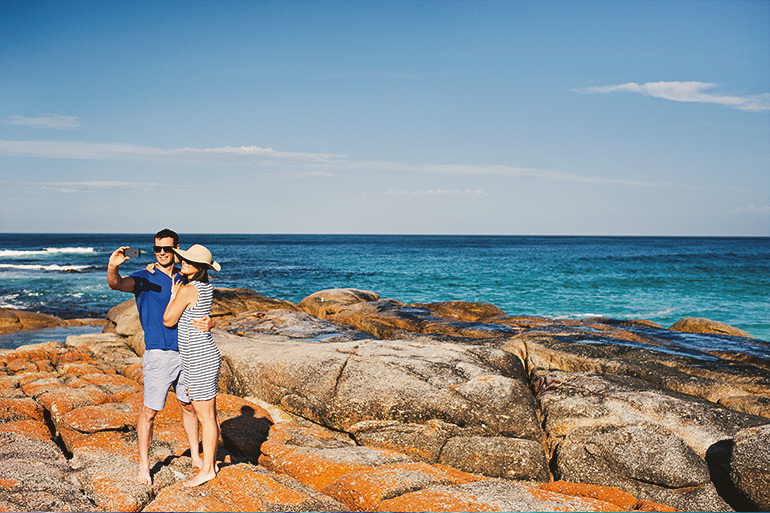 Binalong Bay Australia  city pictures gallery : ... the bay of fires stretches over 50 kilometres from binalong bay in the