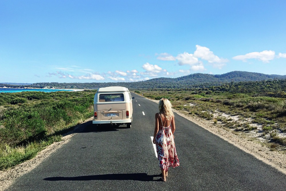 Elise Cook on her Great Eastern Drive road trip