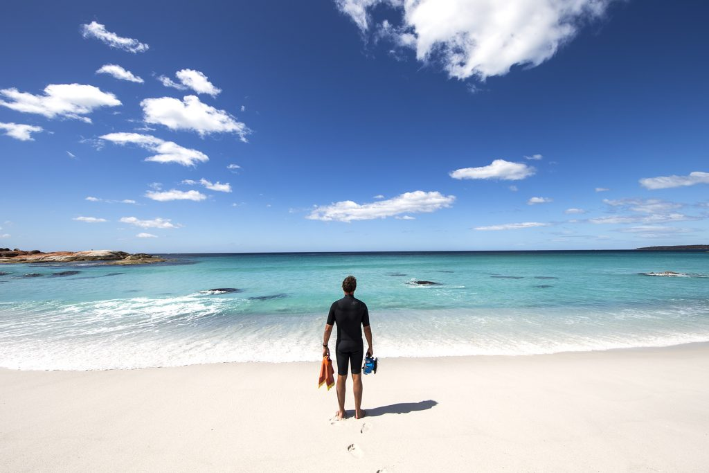 Sean Scott explores the Bay of Fires