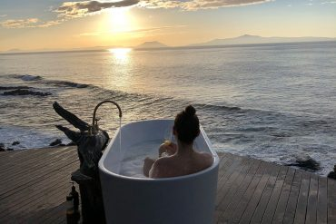 Bathtubs with a view east coast tasmania ben hansen