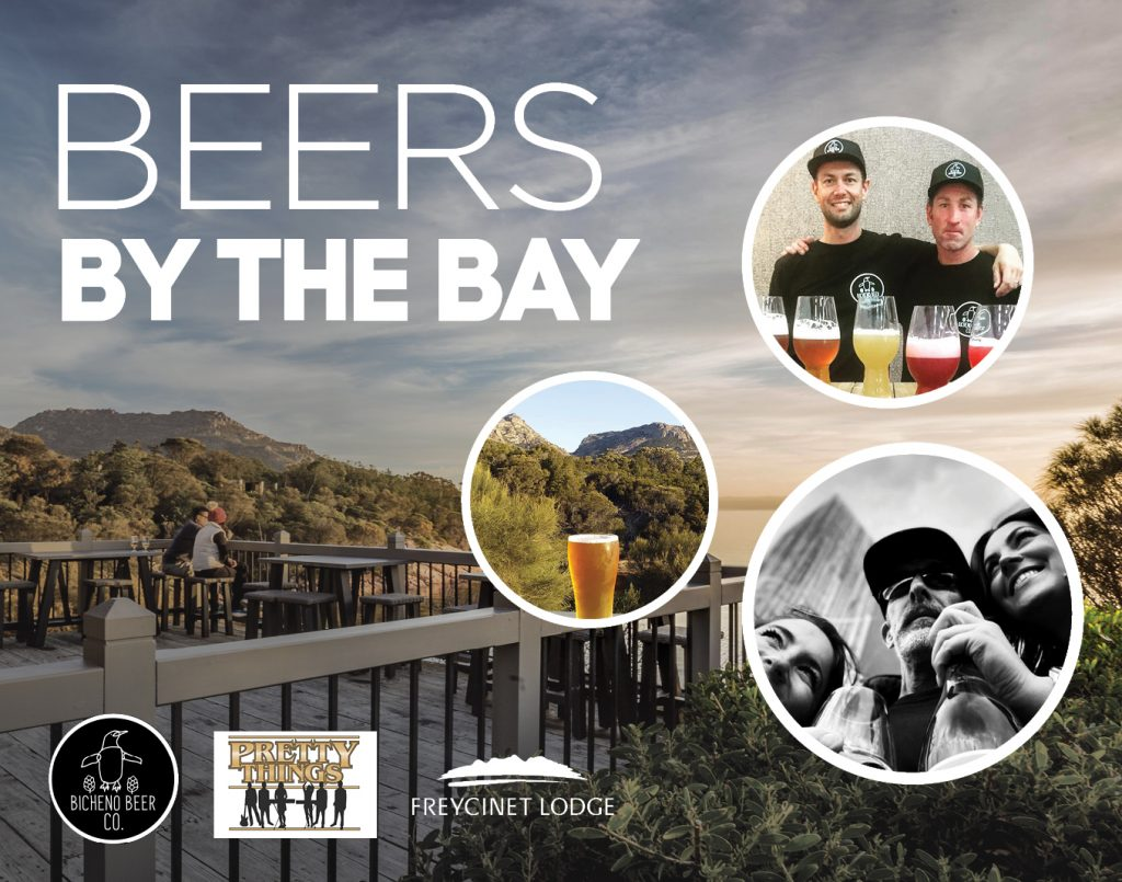 Beers by the Bay Freycinet Lodge
