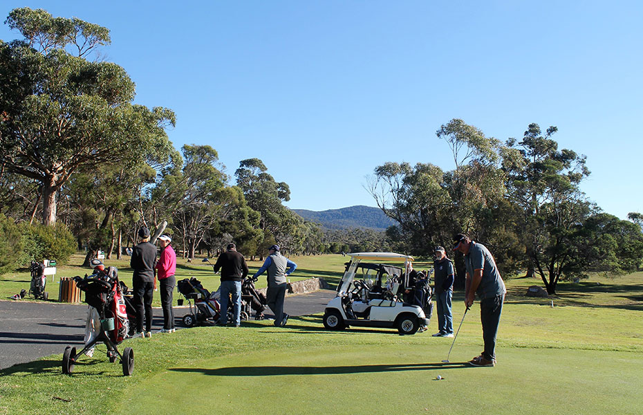 Bicheno Golf Course East Coast Tasmania