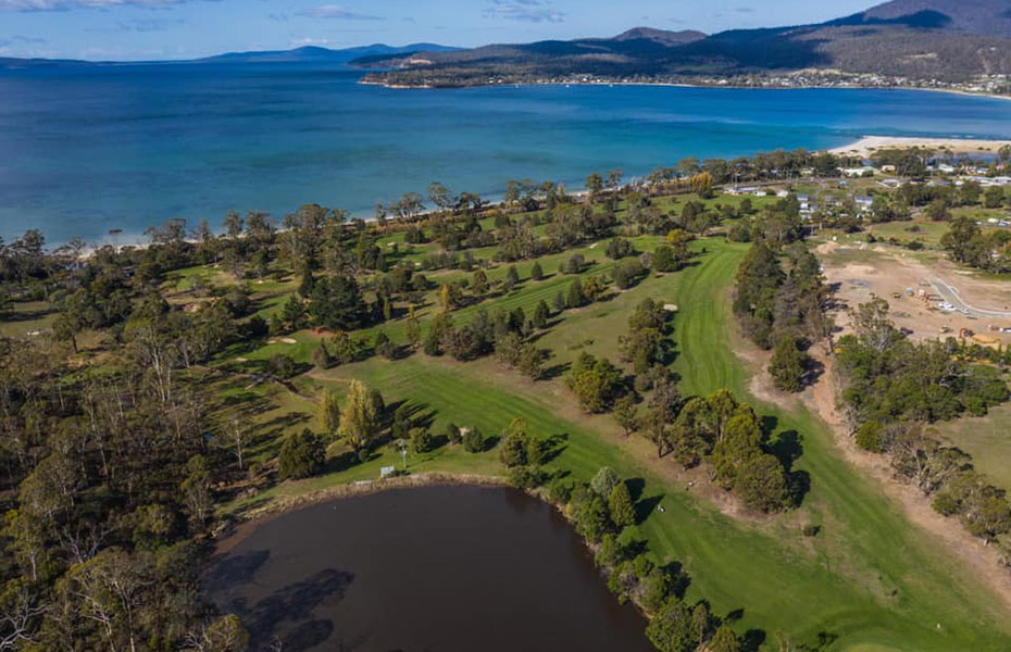 Orford Golf Course East Coast Tasmania