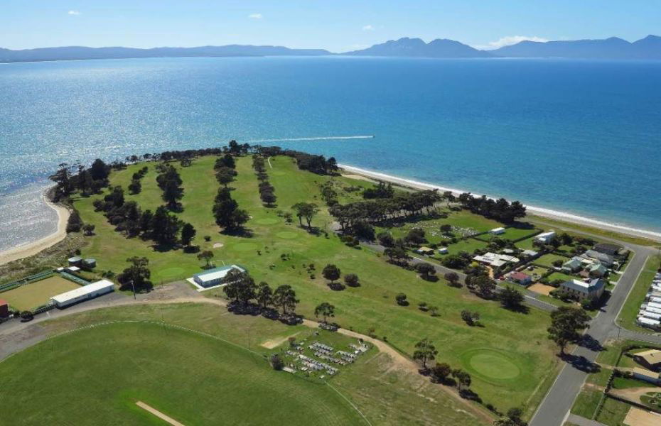 Swansea Golf Course East Coast Tasmania