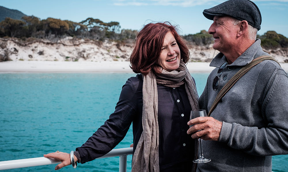 Wineglass Bay Cruises Autumn Credit Puddlehub East Coast Tasmania