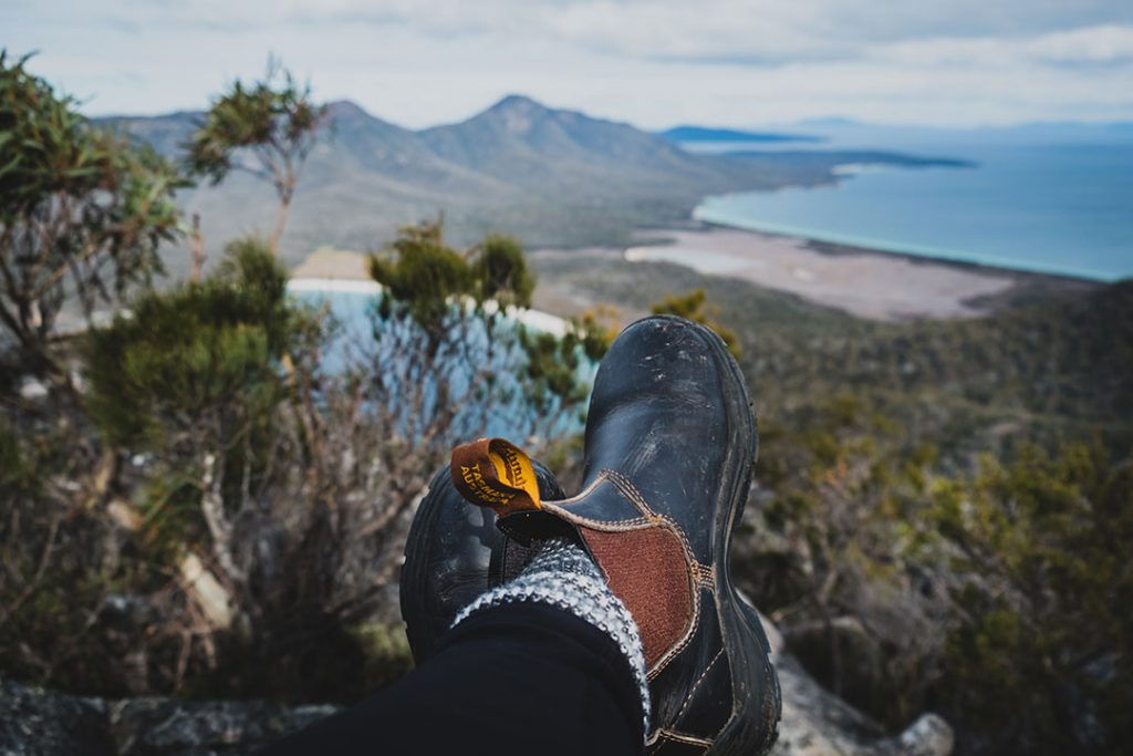 What to do in Winter on the East Coast Tasmania - HIking and walking. Mt Amos, Wineglass Bay