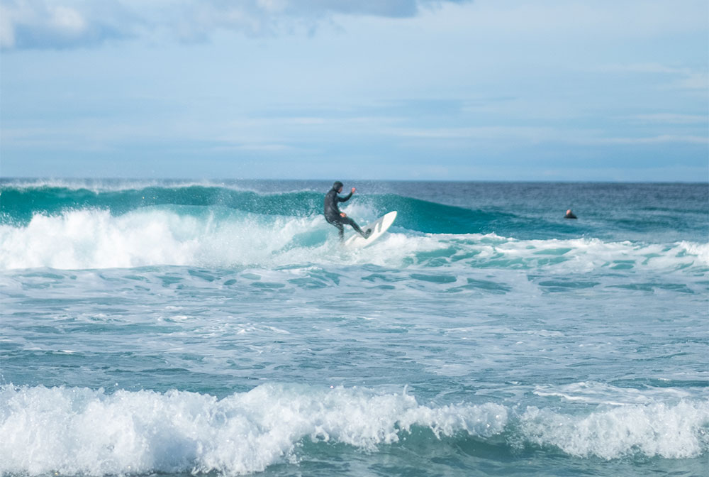 Things to do in Winter on East Coast Tasmania - Surfing